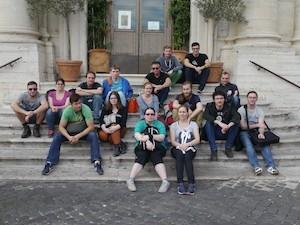 Unsere Rom-Reisenden