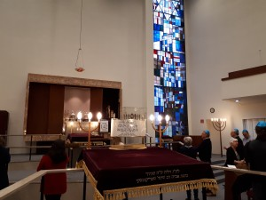 Bild für Der Religionskurs besucht die Synagoge am 13.02.2020