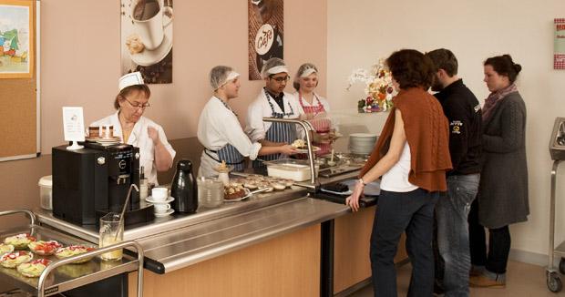 Bild für Küche und Cafeteria
