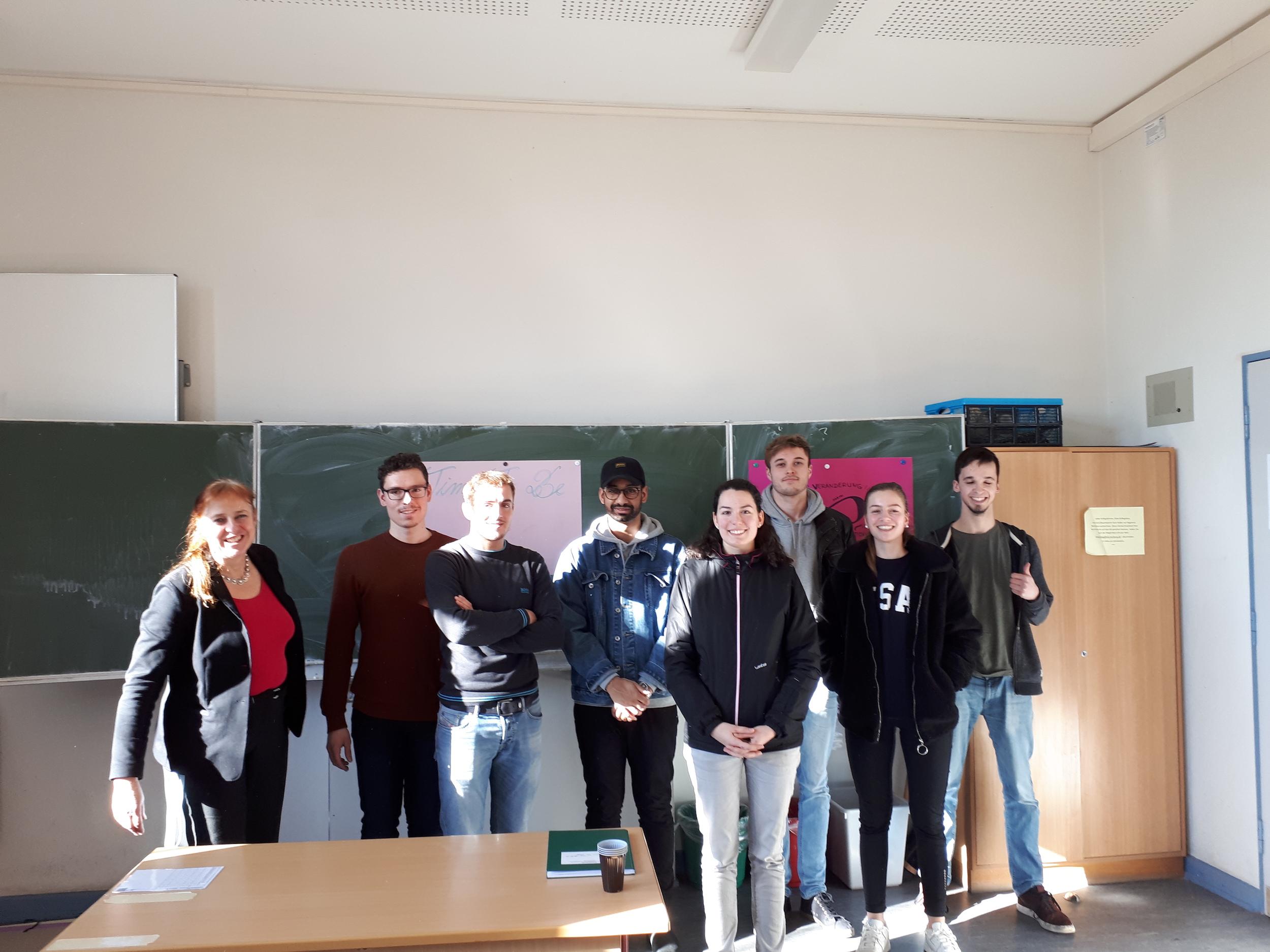Bild für Schülerdiskussion mit Dr. Wolfgang Schäuble