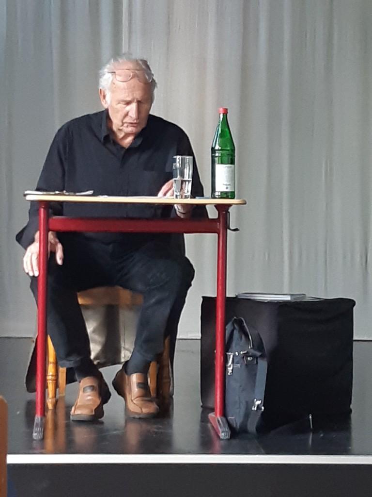 Bild für Zeitzeugenbesuch (I): Harald Hinsch besucht das HAK